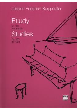Etiudy op. 100 na fortepian