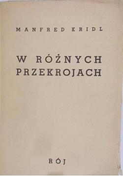 W Różnych Przekrojach 1939 r