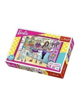 Puzzle 30 Barbie Wspólne gotowanie TREFL