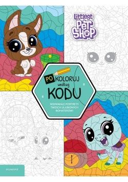 Littlest Pet Shop Pokoloruj według kodu