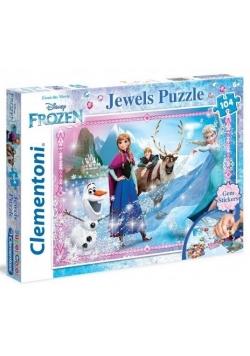 Puzzle 104 Kraina Lodu Ozdoby 2