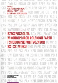 Rzeczpospolita w koncepcjach polskich partii i środowisk politycznych XX i XXI wieku