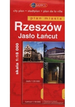 Plan Miasta DAUNPOL. Rzeszów br