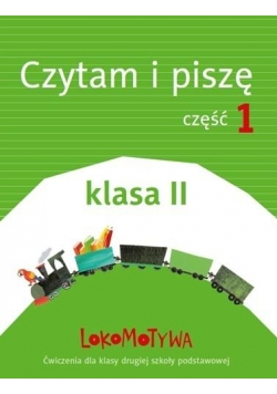Lokomotywa 2 Czytam i piszę cz.1 w.2018 GWO
