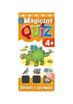Magiczny quiz. Dotknij i sprawdź od 4 lat cz. 2