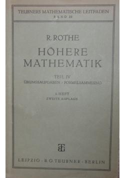 Hohere Mathematik ,1938r.