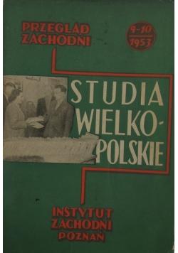 Studia wielkopolskie