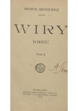 Wiry Tom II,1936r.