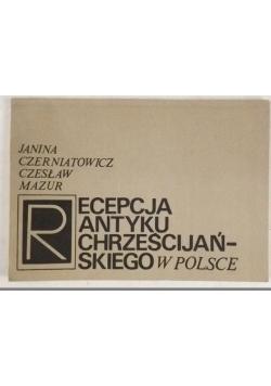 Recepcja antyku chrześcijańskiego w Polsce