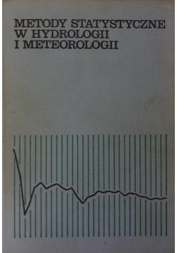 Metody statystyczne w hydrologii i meteorologii
