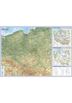 Polska. Mapa ścienna podręczna