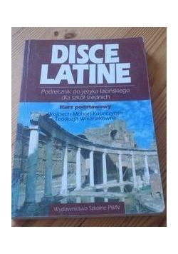 Disce Latine Podręcznik do jęz.łacińskiego dla szkół średnich kurs podstawowy