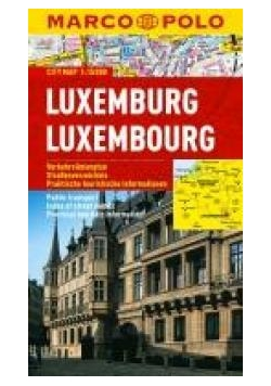Plan Miasta Marco Polo. Luksemburg