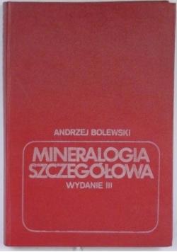 Mineralogia szczegółowa, wyd. III