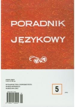 Poradnik językowy 5/2012