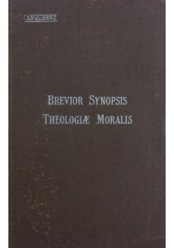 Brevior sunopsis theologiae moralis, 1924r.