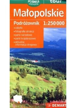 Małopolskie Podróżownik Mapa turystyczna 1:125 000