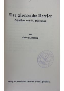 Der glorreiche Bettler 1930  r .
