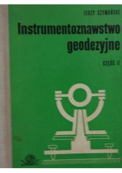 Instrumentoznawstwo geodezyjne, cz. II
