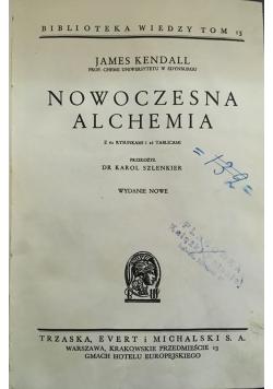Nowoczesna Alchemia, 1931 r.