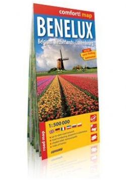 Comfort!map Benelux 1:500 000 plan miasta
