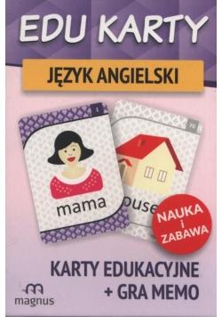 Edu karty Język angielski + gra memo