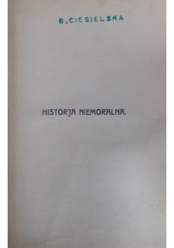 Historja niemoralna, ok. 1950 r.