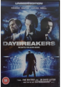 Daybreakers The Battle for Blood Begins, DVD