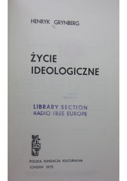 Życie ideologiczne