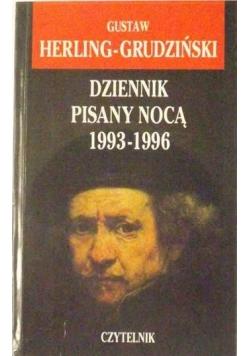 Dziennik pisany nocą 1993-1996