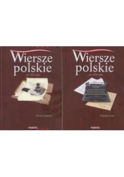 Wiersze polskie po 1918, zestaw 2 książek