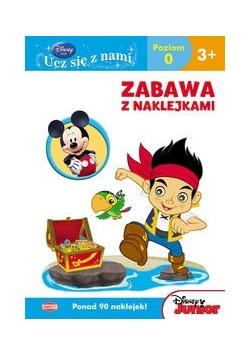 Disney Ucz się z nami Disney Junior Zabawa z naklejkami