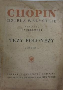 Trzy polonezy z 1817 i 1821 r.