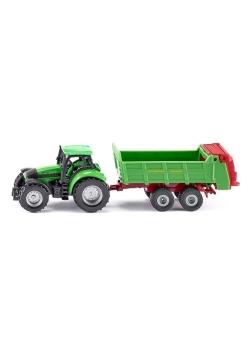 Siku 16 - Traktor z przyczepą S1673