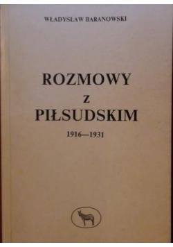 Rozmowy z Piłsudskim