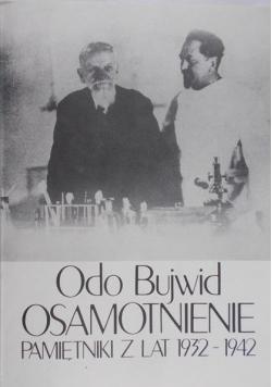 Osamotnienie. Pamiętniki z lat 1932-1942