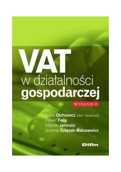 VAT w działalności gospodarczej