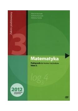 Matematyka 3 Podręcznik Liceum Zakres podstawowy, Nowa