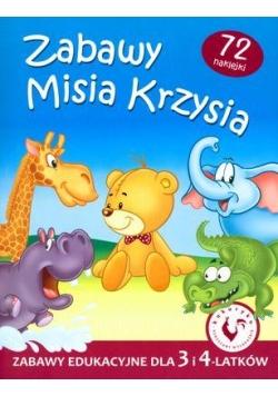 Zabawy Misia Krzysia - Zabawy edukacyjne