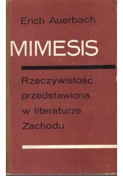 Mimesis, rzeczywistość przedstawiona w literaturze Zachodu, tom I