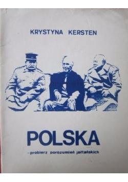 Polska - probierz porozumień jałtańskich