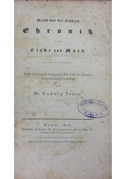 Gert's van der Schuren Chronik, 1824r.