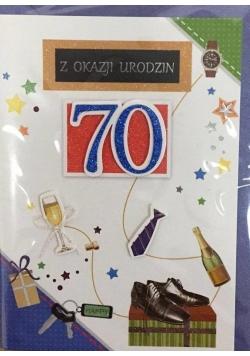 Karnet urodziny B6 Premium 66 + koperta