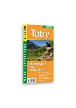 Mapa Turs. Tatry 1:20 000 DEMART