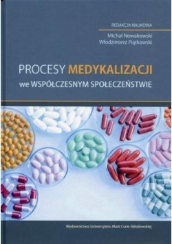 Procesy medykalizacji we współczesnym społecz.
