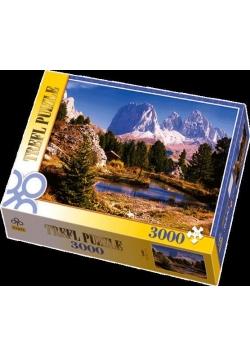 Puzzle 3000 Jeziorko w Dolomitach TREFL
