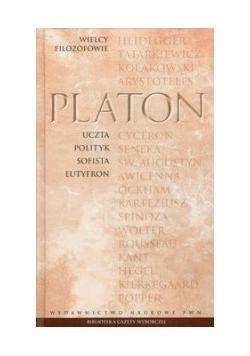 Wielcy Filozofowie 3 Uczta Polityk Sofista Eutyfron