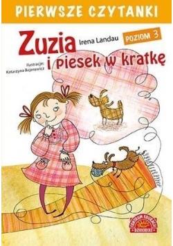 Pierwsze czytanki. Zuzia i piesek w kratkę cz.3