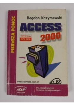 Access 2000. Pierwsza pomoc