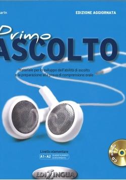 Primo ascolto Książka + CD poziom A1-A2